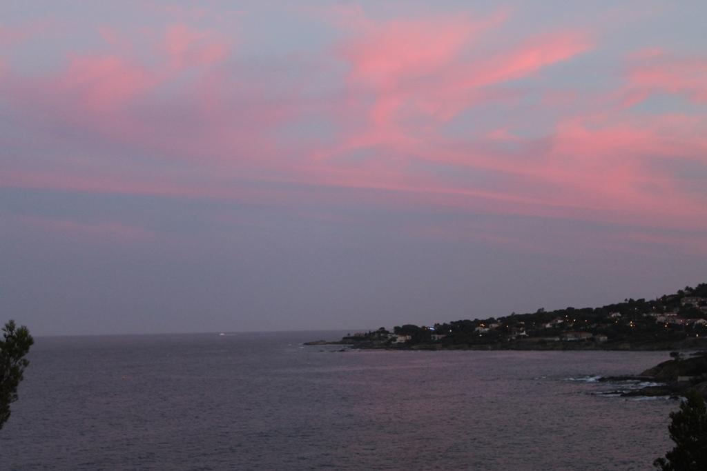 zonsondergang op Les Issambres