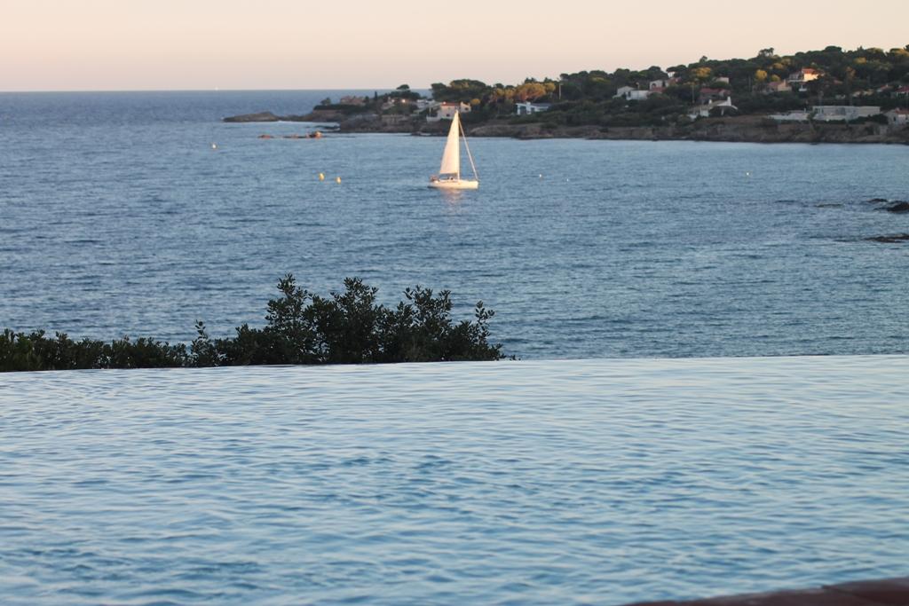 Prachtige panorama langs de Middellandse zee