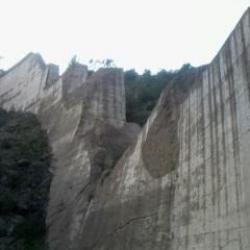 Le barrage de Malpasset (près de Cannes)