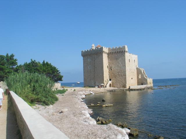 Fort de St Honorat (îles de Lérins, Cannes)